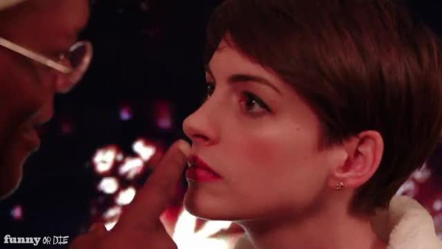 fod, funnyordie, shut up, shutup, Funny or Die Samuel Jackson Anne Hathaway Shut up GIFs