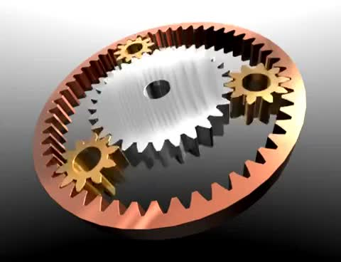 Watch and share Five Gear Planetary Gears In Blender GIFs on Gfycat
