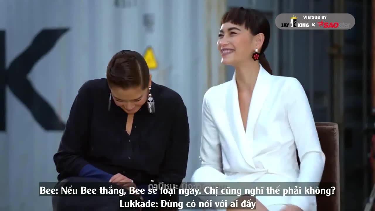 Có khi nào lời nói của Bee Namthip mới là lí do thực sự khiến Lukkade loại đi thí sinh đội Cris?