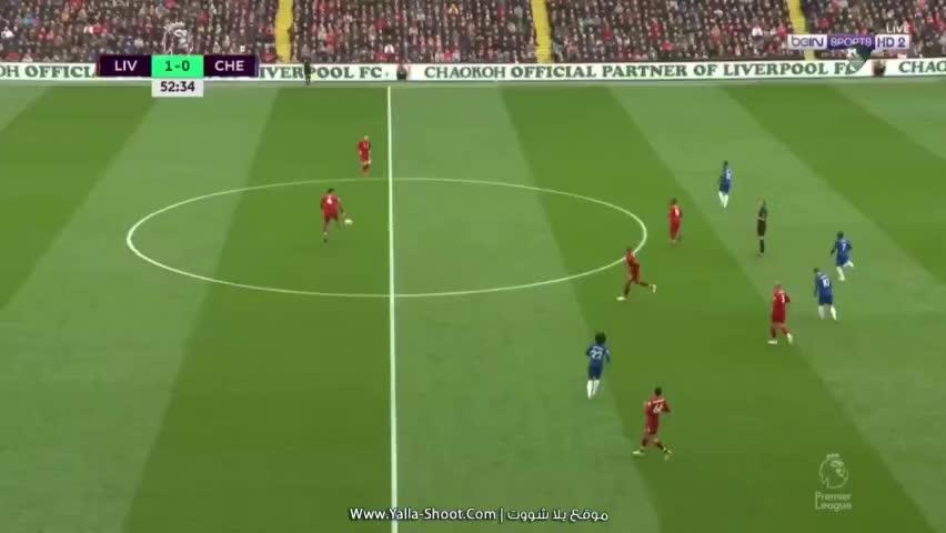 Chelsea, Salah MO , Goal , in Chelsea, goal, soccer, Salah MO , Goal , in Chelsea GIFs