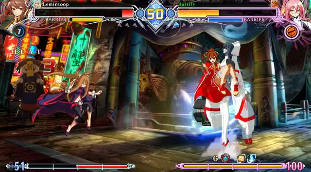 Watch and share BlazBlue Centralfiction 2019.03.11 - 23.04.17.13.DVR GIFs by rairai on Gfycat