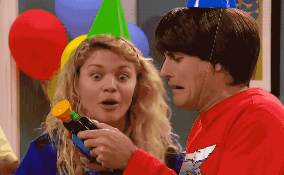 birthday, boo, bop, cry, disgust, disgusting, ew, extreme, game, god, happy, happy birthday, hoo, it, lick, my, oh, omg, party, ultimate, Bop it extreme - The ultimate party game GIFs