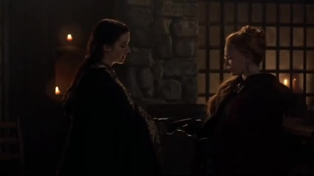 Watch Reign 3x14 Mary and Greer goodbye GIF by History N 1066 (@historyn1066) on Gfycat. Discover more AnEternityWithDelena Official, Film & Animation, black, gold, greer, mary, night, of, queen, scots GIFs on Gfycat