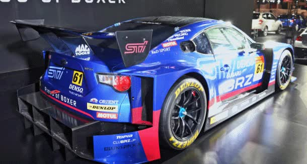 Watch and share 2015 Subaru BRZ GT300 And WRX NBR Racers Pack Wild Aero Ugrades GIFs on Gfycat
