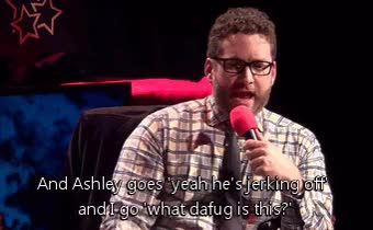 Watch and share Rooster Teeth RoosterTeeth Burnie Burns Rt Gif Ashley Jenkins GIFs on Gfycat