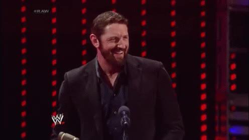 Watch and share Wade Barrett Laugh GIFs on Gfycat