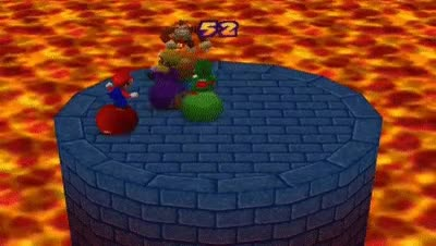 Watch and share Mario Party 2 Mini Games - Bumper Balls Stage 1 GIFs on Gfycat