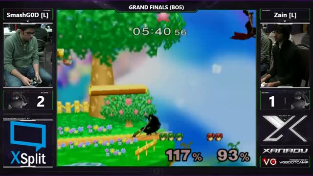S@X 184 - SmashG0D (Marth) Vs. SSI | Zain (Marth) - SSBM Grand Finals - Smash Melee