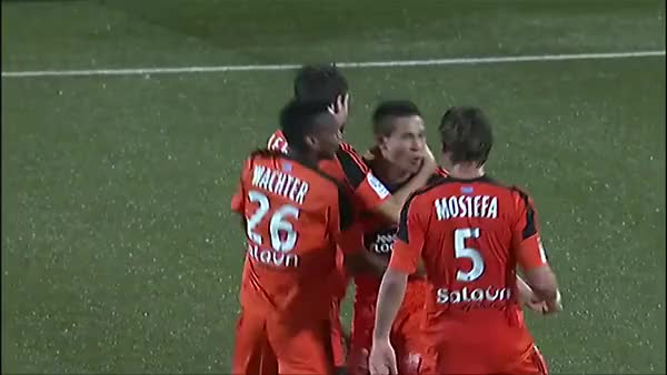 Watch FC Lorient - RC Lens (1-0) Raphael Guerreiro GIF on Gfycat. Discover more soccer GIFs on Gfycat
