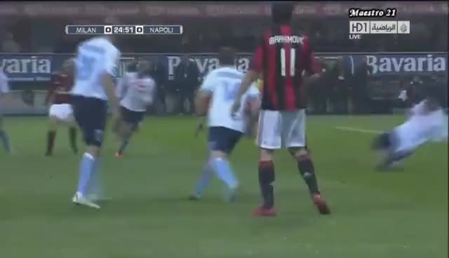 Watch and share Highlights AC Milan 3-0 Napoli - 28/02/2011 GIFs on Gfycat