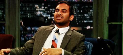 Watch and share Aziz Ansari GIFs on Gfycat