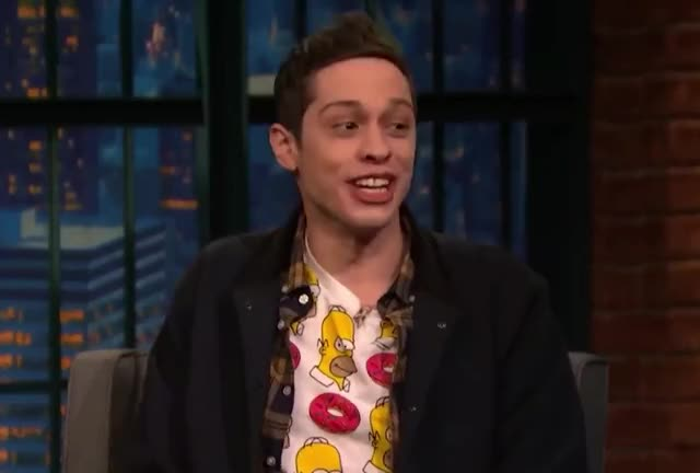 Watch this pete davidson GIF by GIF Queen (@ioanna) on Gfycat. Discover more bingo, bro, cool, davidson, done, funny, interview, ironic, irony, jimmy, kimmel, lol, on, perfect, pete, right, saturday, snl, story, well GIFs on Gfycat