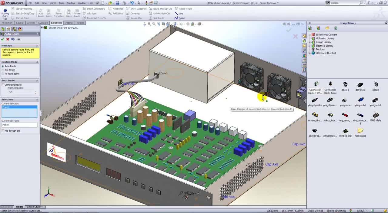 electronics, An Introduction to Electrical Routing in SolidWorks [Webcast] GIFs