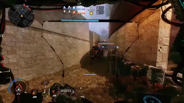 Watch and share Bren - #Titanfall2 #badmovemonarch #PS4 GIFs on Gfycat