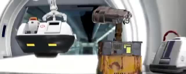 Watch Wall-E: Repair ward. GIF on Gfycat. Discover more 3D, Disney, animation, pixar, wall-e GIFs on Gfycat