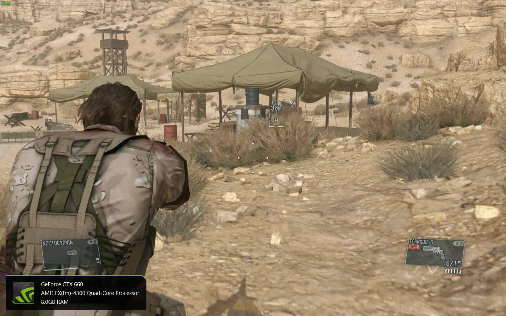 metalgearsolid, metalgearsolidv, mgsv, The Tornado-6 (Metal Gear Solid V: The Phantom Pain) GIFs