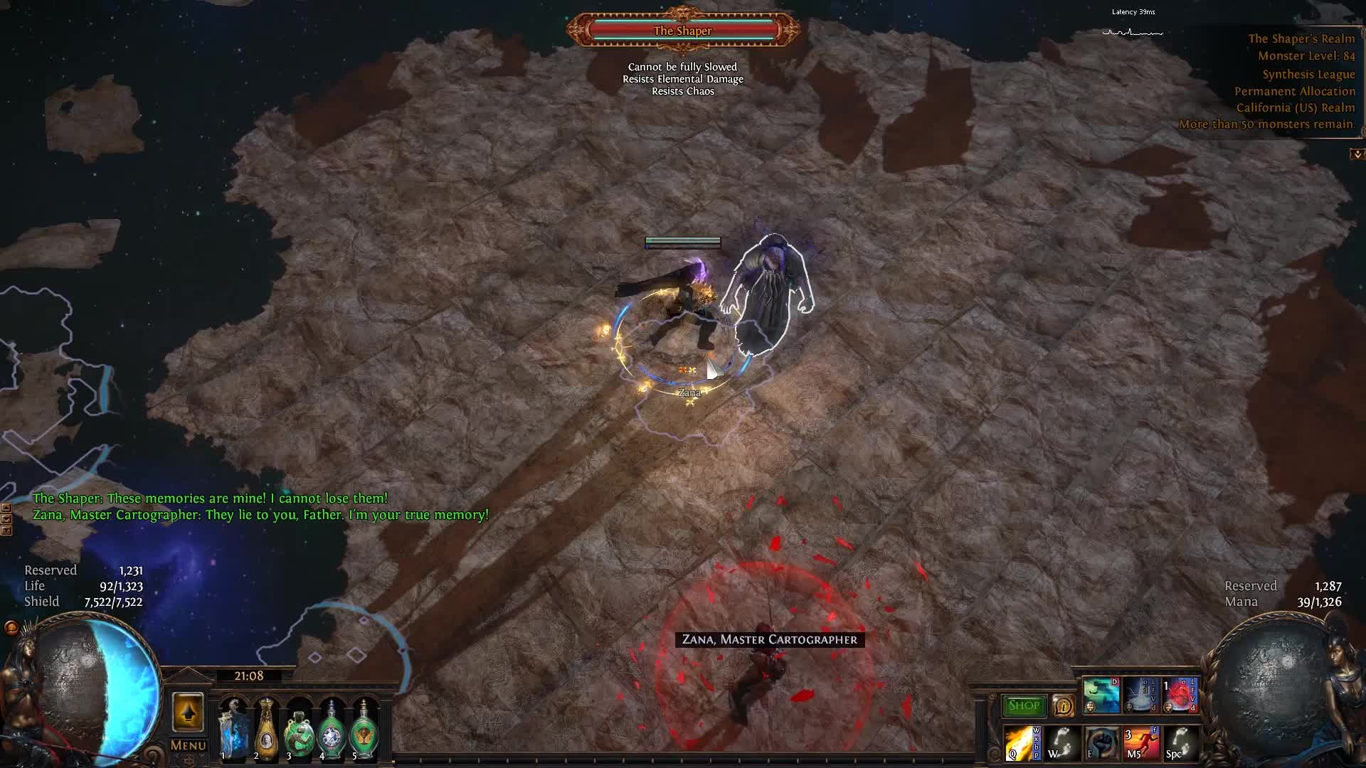 pathofexile, shaper vaal storm call GIFs