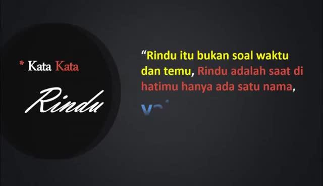 Watch and share Kata-Kata Rindu Untuk Kekasih GIFs on Gfycat