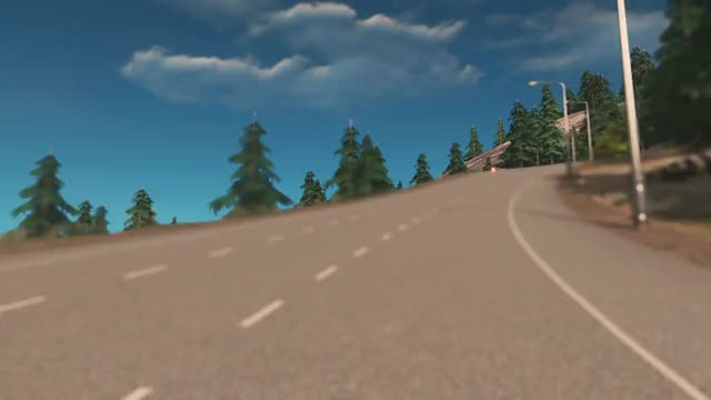 Watch and share Over The Mountain Highway [Cities: Skylines] GIFs on Gfycat