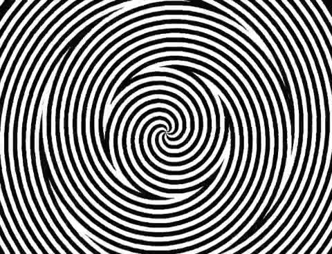 Watch and share Optical Illusion - Hypnotic Spiral GIFs on Gfycat