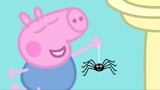 Watch Peppa Pig Wutz George Spinne Spider GIF on Gfycat. Discover more Peppa, Spider, george, peppapig, peppawutz, pig, spinne, wutz GIFs on Gfycat