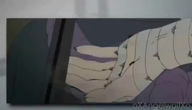 Sasuke with cool style