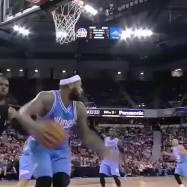 Watch Demarcus cousins throws ball at Chris Paul GIF on Gfycat. Discover more related GIFs on Gfycat