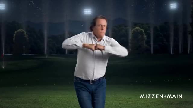 Watch and share Mizzen+Main | The Phil Mickelson Dance GIFs on Gfycat