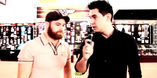 Watch Pranking WWE Wrestlers! GIF on Gfycat. Discover more gif, sami zayn, samizayn, wrestlemania GIFs on Gfycat