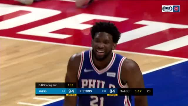 Watch and share Philadelphia 76ers GIFs and Detroit Pistons GIFs on Gfycat