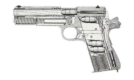Watch and share A Colt .45 1911 In Action : Mechanical_gifs GIFs on Gfycat