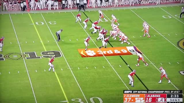 Watch and share Clemson Vs. Alabama | National Championship Highlights | 2019 GIFs on Gfycat