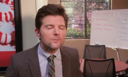 Adam Scott, gfycatdepot, reactiongifs, Pungent smell so bad horrible hurts nostrils really bad musk perfume after shave [Parks and Recreations Ben Wyatt Adam Scott] (reddit) GIFs