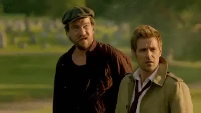 Watch John Constantine and Chas portraiting a life long friendship GIF on Gfycat. Discover more chastantine is my otp, constantine, they're my babies and i love them, yeah yeah GIFs on Gfycat