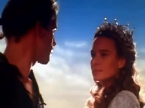 Watch and share Happy Ending Kiss (Westley & Buttercup) GIFs on Gfycat
