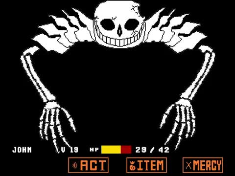 Watch and share Ultra Sans Breaks More Buttons | Undertale GIFs on Gfycat