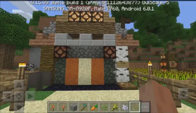 Most Compact REDSTONE HOUSE In MCPE! GIFs