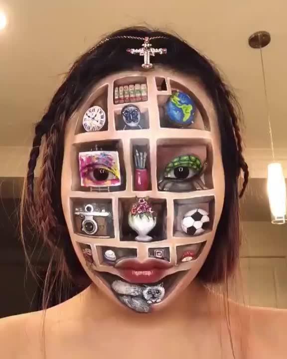 Watch and share Astonishing Makeup Skills GIFs by Mahmoud M. Mahdali on Gfycat