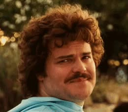 Watch this jack black GIF by GIF Queen (@ioanna) on Gfycat. Discover more afro, awkward, black, funny, hilarious, jack, joke, mustache, pornstache, smile GIFs on Gfycat