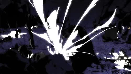 Watch and share Black Rock Shooter Anime Gif GIFs on Gfycat