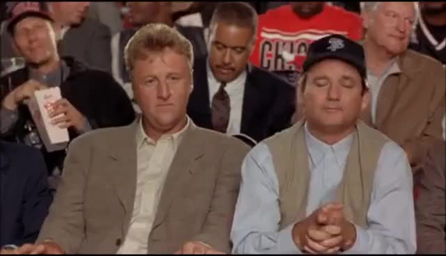 Watch this bill murray GIF on Gfycat. Discover more bill murray, bulls, larry bird, space jam GIFs on Gfycat