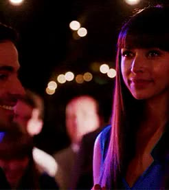 Watch and share Max Greenfield GIFs and Hannah Simone GIFs on Gfycat