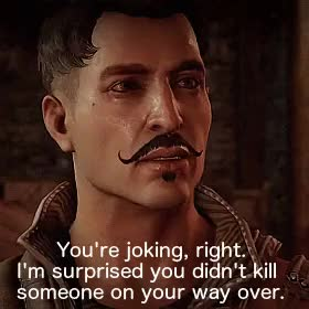 Watch and share Dragon Age Quotes GIFs and Moselle Lavellan GIFs on Gfycat