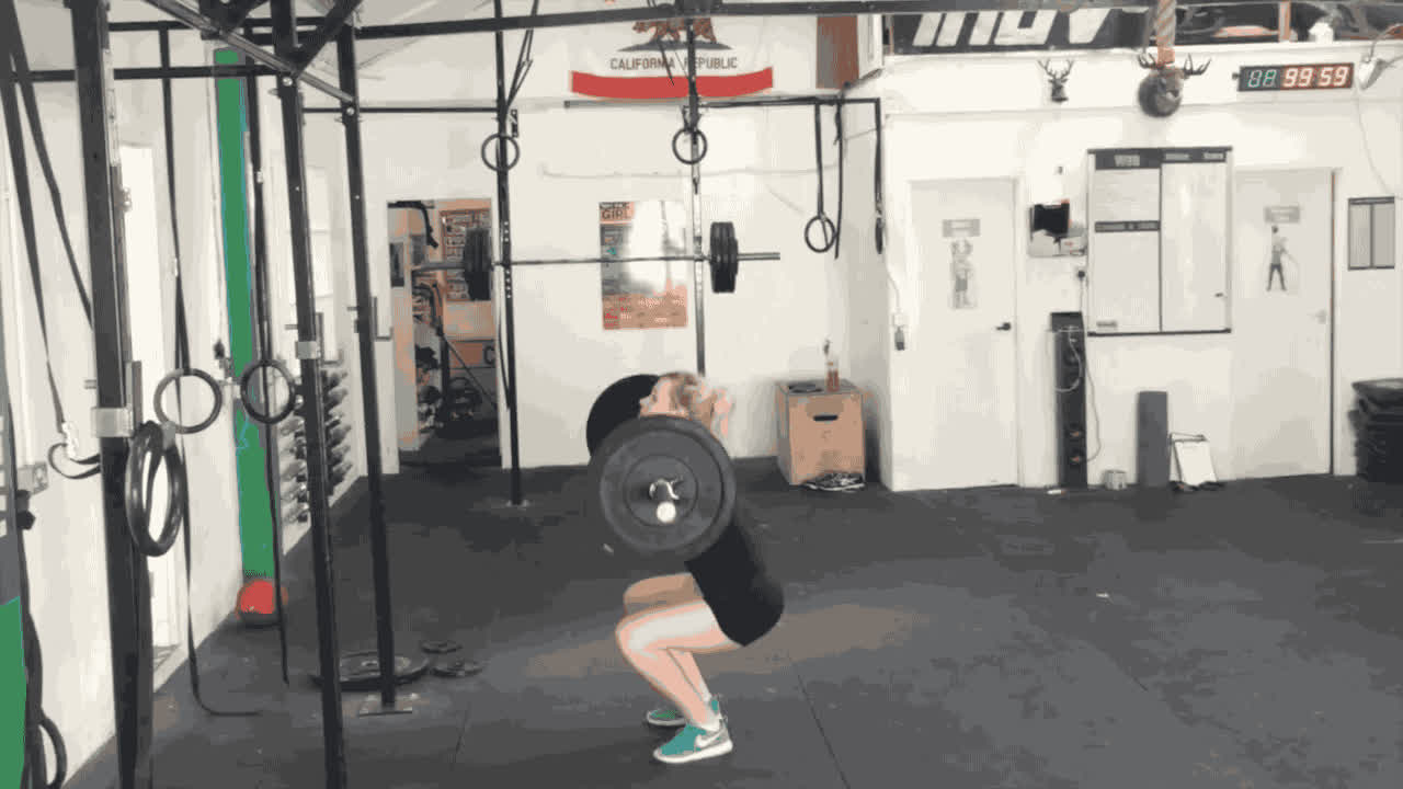 CrossFit Thrusters GIFs