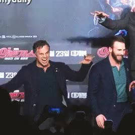 Watch this mark ruffalo GIF on Gfycat. Discover more age of ultron, chris evans, mark ruffalo, mcu, my gif, not hockey GIFs on Gfycat