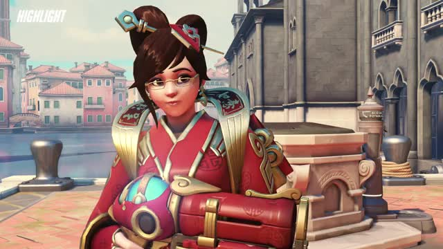 Watch Mei :) GIF by Nela (@nelalumina) on Gfycat. Discover more Mei, Overwatch, highlight GIFs on Gfycat