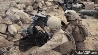 Watch MK19   40mm Grenade Launcher - Marine Corps Weapons GIF on Gfycat. Discover more related GIFs on Gfycat