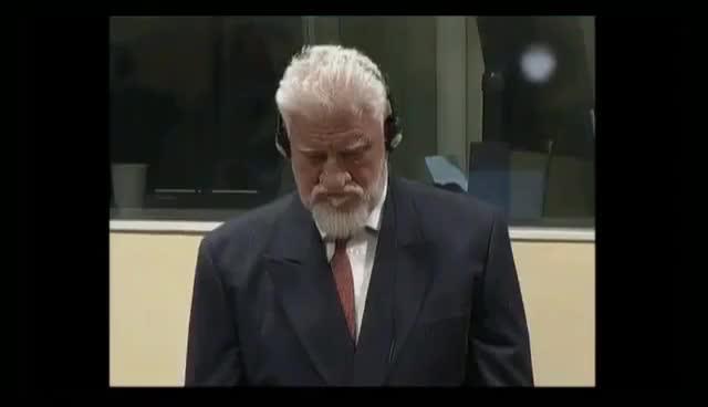 Watch and share Slobodan Praljak - I Have Taken Poison - Full Lengh😱 GIFs on Gfycat