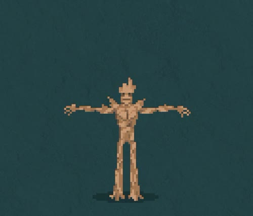 Watch Groot GIF on Gfycat. Discover more gotg, groot, guardians of the galaxy, i am groot, pixel animation, pixel art GIFs on Gfycat