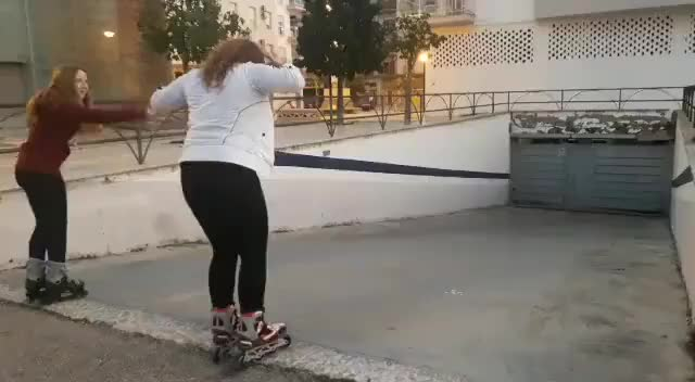 Watch and share Let Us Skate Down This Slope, WCGW? GIFs by sil130 on Gfycat